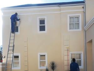 AFTER: Completed work after crack repair and painting Location: Morningside, Sandton