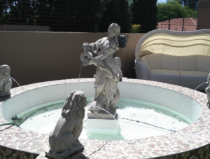 Water Feature built and installed